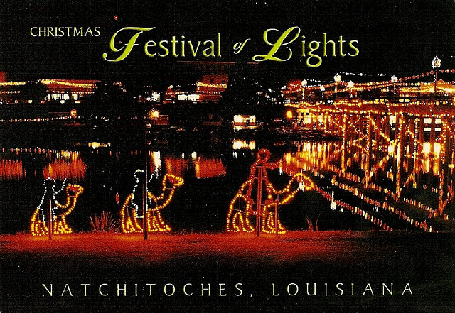Michelle Southern Reporting. The City Of Natchitoches Officially Kicks Off  Their Christmas Festival ...