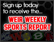 WEIR Weekly Sports Report