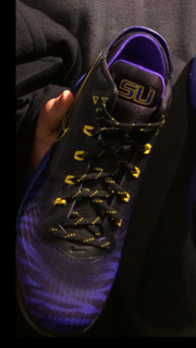 f461544f2af0 A Baton Rouge shoe store employee is being uncooperative with LSU Police in  regards to the sale of game-worn LSU football equipment on eBay. Capt.