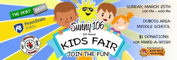 2018 Sunny 106 DuBois Kids Fair
